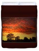Embossed Sunrise Duvet Cover