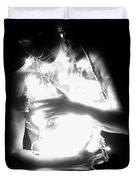 Embracing Light - Self Portrait Duvet Cover