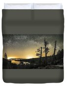 Emerald Arch - Eagle Falls Duvet Cover