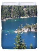 Emerald Bay Duvet Cover