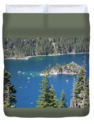 Emerald Bay Duvet Cover