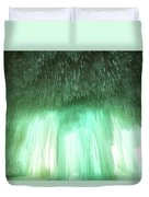 Emerald Cave - Grand Island On Lake Superior Duvet Cover