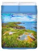 Emerald Coast Duvet Cover