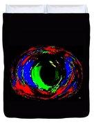 Emerald Eye Duvet Cover