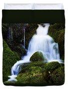 Emerald Falls Duvet Cover