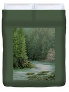 Emerald Forest Duvet Cover