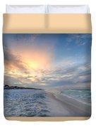 Emerald Gulf Duvet Cover
