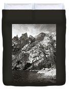 Emerald Lake Colorado Duvet Cover