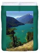 Emerald Lake Duvet Cover