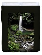 Emerald Pool Duvet Cover