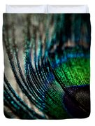 Emerald Shadows Duvet Cover