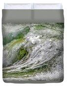 Emerald Storm Duvet Cover