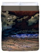 Emerging Darkness Duvet Cover by Reed Novotny