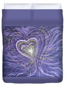 Emerging Heart Duvet Cover