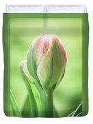 Emerging Ice Cream Tulip Duvet Cover