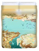 Emigration  Duvet Cover