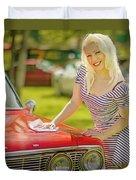 Emily #2 Royal Holden Duvet Cover