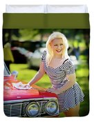 Emily #3 Royal Holden Duvet Cover