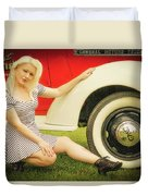 Emily #5 Royal Holden Duvet Cover