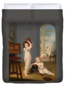 Emily And George Mason Duvet Cover