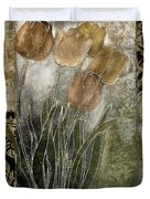 Emily Damask Tulips II Duvet Cover