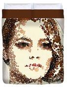 Emma Stone Duvet Cover