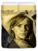 Emma Watson Collection Duvet Cover