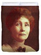 Emmeline Pankhurst, Suffragette Duvet Cover