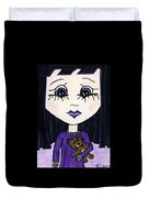 Emo Girl IIi Duvet Cover
