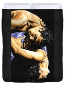 Emotional Tango Duvet Cover by Richard Young
