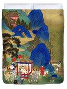 Emperor Chin Wang Ti Duvet Cover