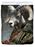 Emperor Jstor Jax Duvet Cover