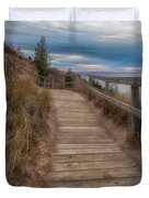 Empire Bluffs 3 Duvet Cover