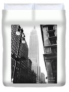 Empire State Building, 1931 Duvet Cover