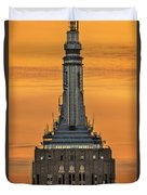 Empire State Building Esb Broadcasting Nyc Duvet Cover