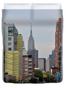 Empire State Empty Street Duvet Cover