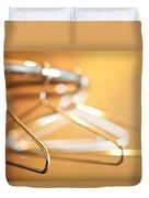 Empty Hangers Duvet Cover