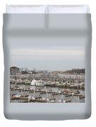 Empty Harbor Duvet Cover