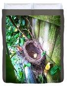 Empty Nest Duvet Cover