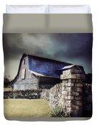 Empyrean Estate Stone Wall Duvet Cover
