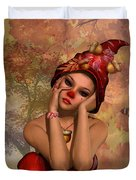 Enchanted Acorn Elf Duvet Cover