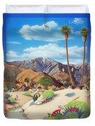 Enchanted Desert Duvet Cover