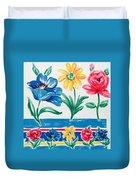 Enchanted Florals Duvet Cover