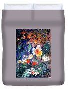 Enchanted Garden Duvet Cover