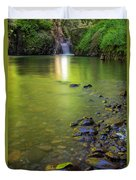 Enchanted Gorge Reflection Duvet Cover