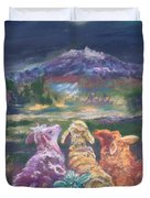 Enchanted Lights Duvet Cover