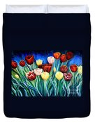 Enchanted Tulips Duvet Cover