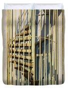 Enclosed Fire Escape Duvet Cover