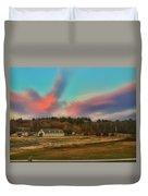 End Of A Beautiful Day Duvet Cover