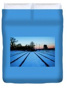 End Of The Tracks Duvet Cover